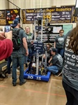 Spencerport Ranger Robotics Team 3015 on their way to the World Championships